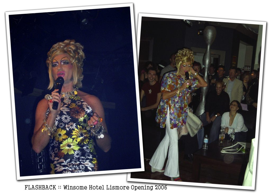 Vanessa Wagner Flashback Winsome Hotel Grand Opening